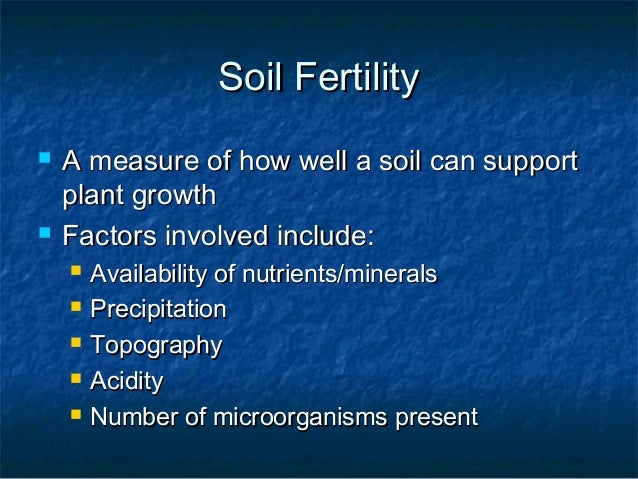 Weathering soil formation and erosion ch7 8 for Minerals present in soil