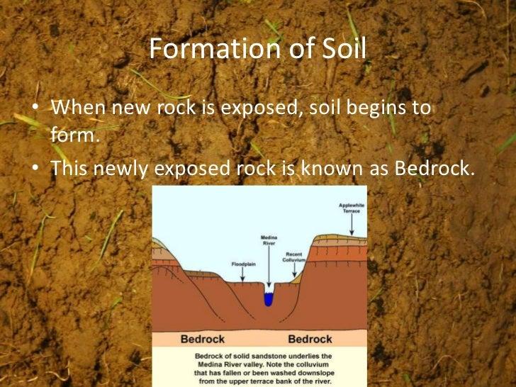 Weathering soils erosion for Explain the formation of soil