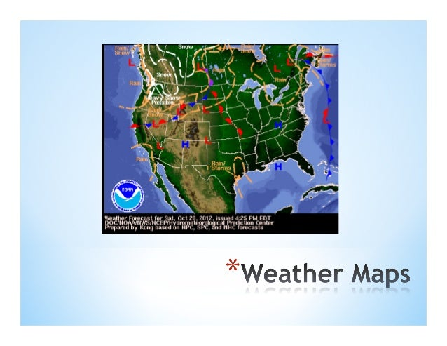Weather Maps Pdf