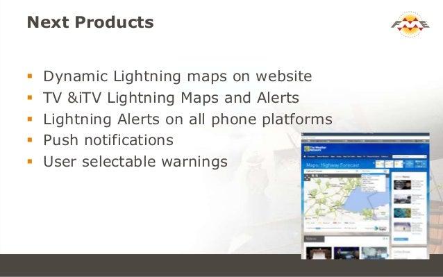 Real‐time Lightning Alerts