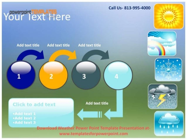 download weather powerpoint template