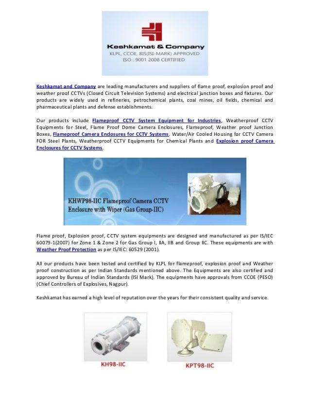 Weatherproof Cctv Equipments For Steel