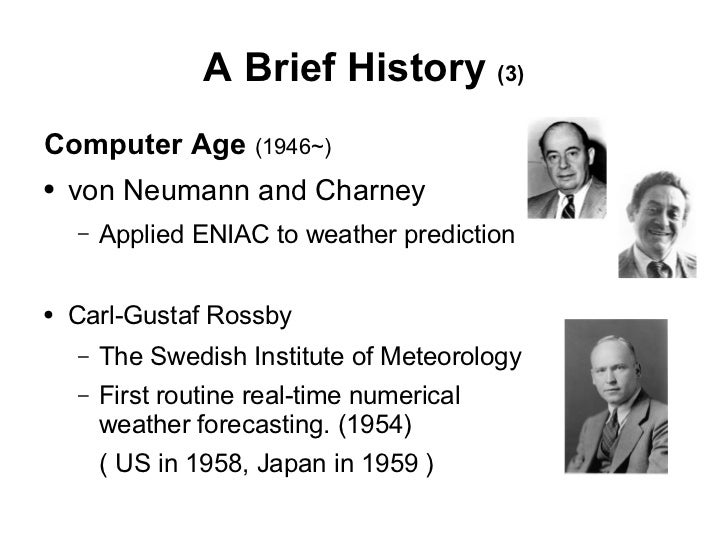 History of Simulation (information science)