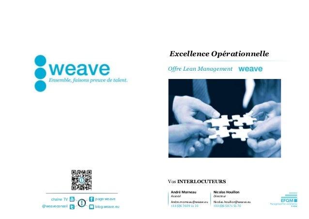 Excellence Opérationnelle                                Offre Lean Management                                Vos INTERLOC...
