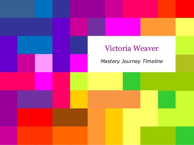 Victoria Weaver Mastery Journey Timeline