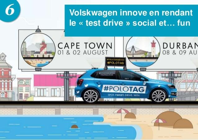 6 Volskwagen innove en rendant le « test drive » social et… fun