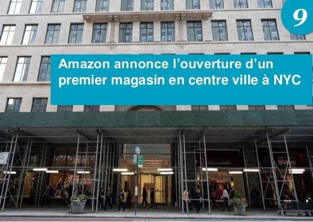 9 Amazon annonce l'ouverture d'un premier magasin en centre ville à NYC