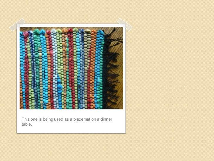 Weaving Mats Po1