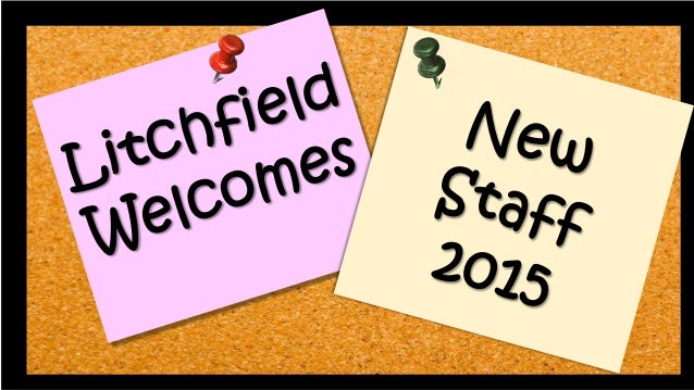 Litchfield schools welcome new staff we are also welcoming kelly reardon katie cimmino tom simmons kristina olmstead theresa cirullo litchfield schools welcome new staff litchfield schools thecheapjerseys Choice Image