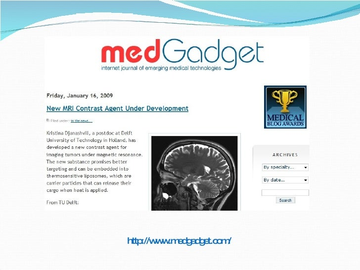 http://www.medgadget.com/