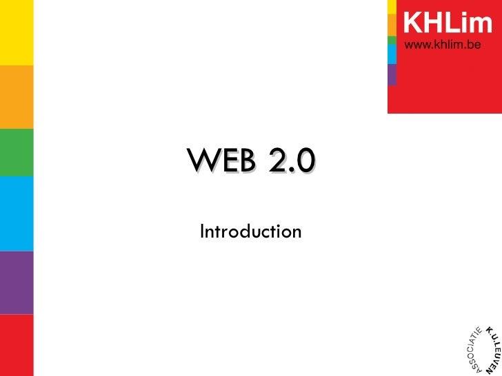WEB 2.0 Introduction
