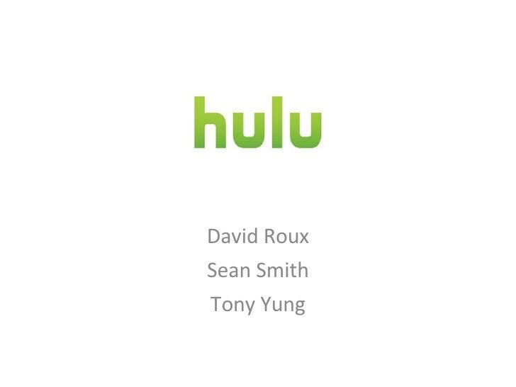David Roux Sean Smith Tony Yung