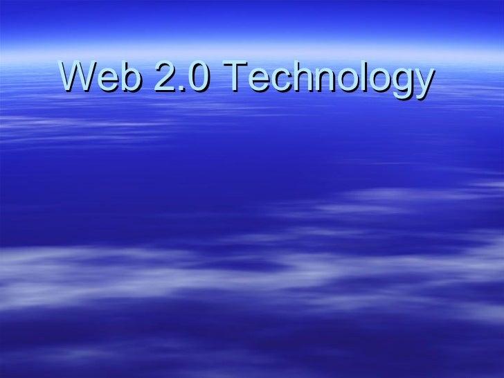 Web 2.0 Technology