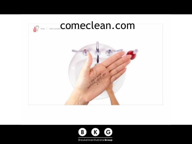 comeclean.com
