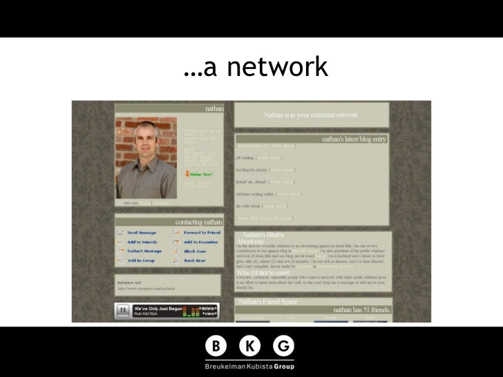 …a network