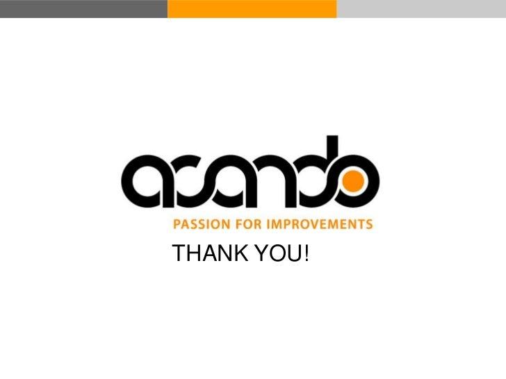 THANK YOU! © Acando AB
