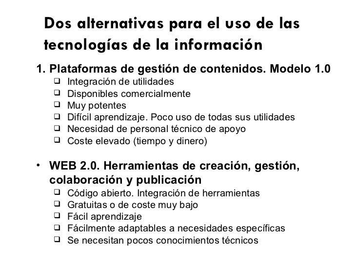 Web 2.0 educativa: aprendizaje activo y colaborativo Slide 3