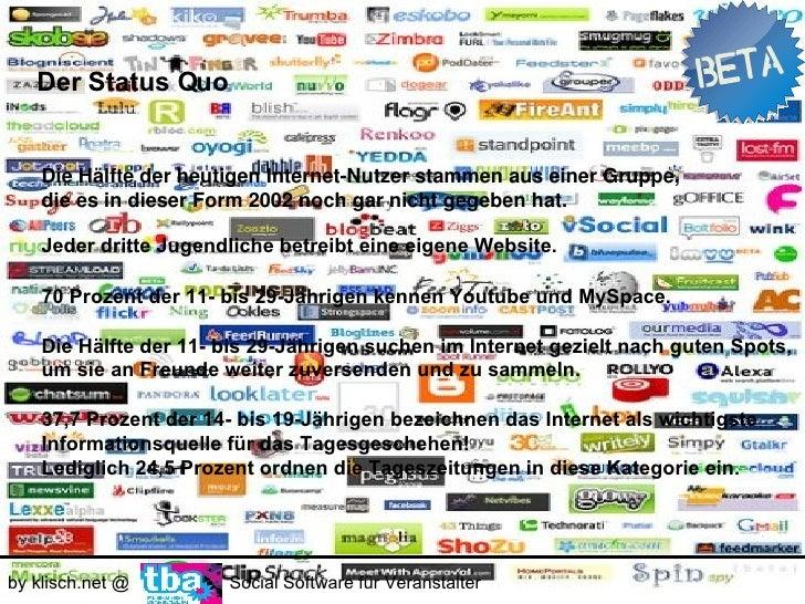 Der Status Quo       USER     GENERATED     CONTENT     Über die Häfte aller Medien- Konsumenten     und sogar 71 Prozent ...
