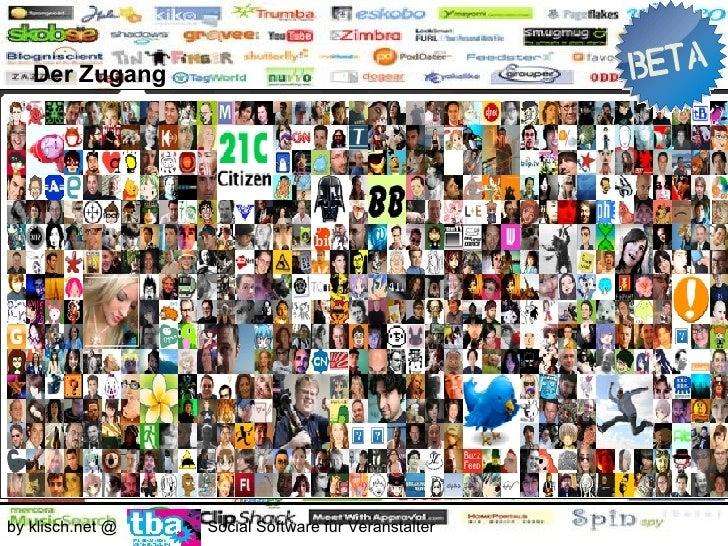 Die Einsatzbereiche        - Kommunikation     by klisch.net @   Social Software für Veranstalter