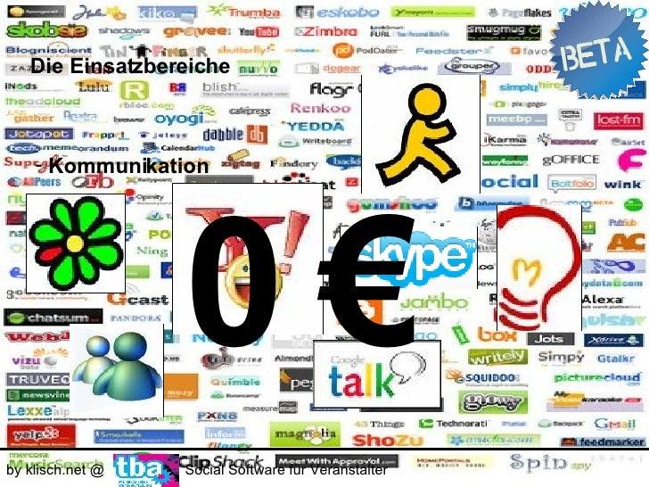 Die Einsatzbereiche        - Kommunikation      98 % aller deutschen Untenehmen haben einen Internetzugang.     Die Hälfte...
