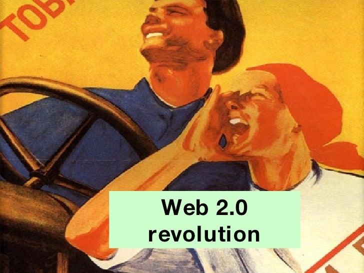 Web 2.0 revolution