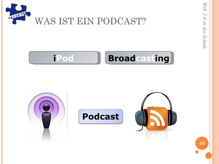 WAS IST EIN PODCAST? i Pod Broad cast ing Podcast