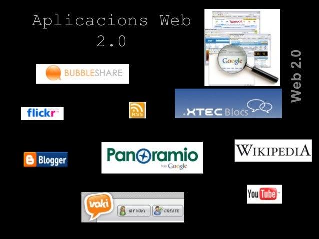 Aplicacions Web 2.0 La Web 2.0 Web2.0
