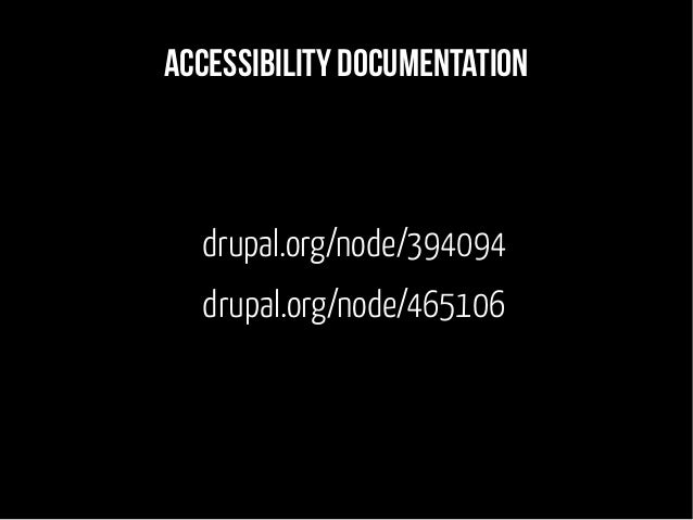 Accessibility is not for screenreaders