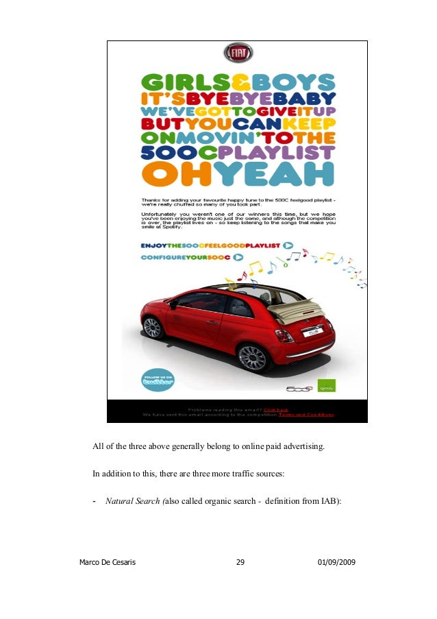 "fiat case study Case-study-fiatmio-order description the report consists of a maximum 2000-word report for the case study ""fiat mio: the project that embraced open innovation, crowdsourcing and creative commons in the automotive industry."