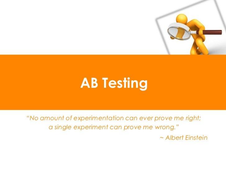 金科玉律 一次只改一個小東西(變數) 持續改善(把好 A/B Testing 到最好) 改變變數≠改變目的 同一個人看到的都是同一個選項
