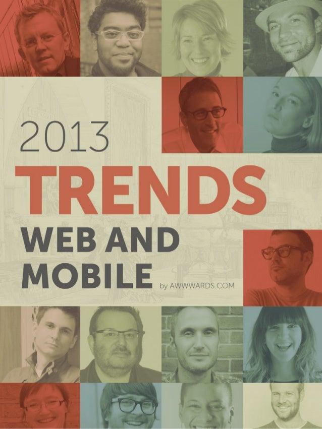 Awwwards.comWeb Design Trends 2013 1