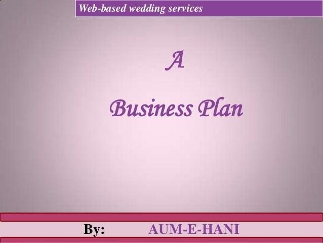 Developing an Internet Business Plan*