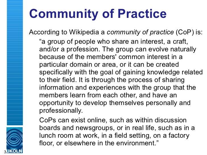 The Web Management Community: Beyond IWMW and JISCMail Lists (#A4) Slide 3