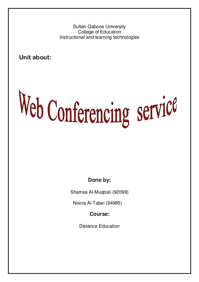 Sultan Qaboos University College of Education Instructional and learning technologies  Unit about:  Done by: Shamsa Al-Muq...