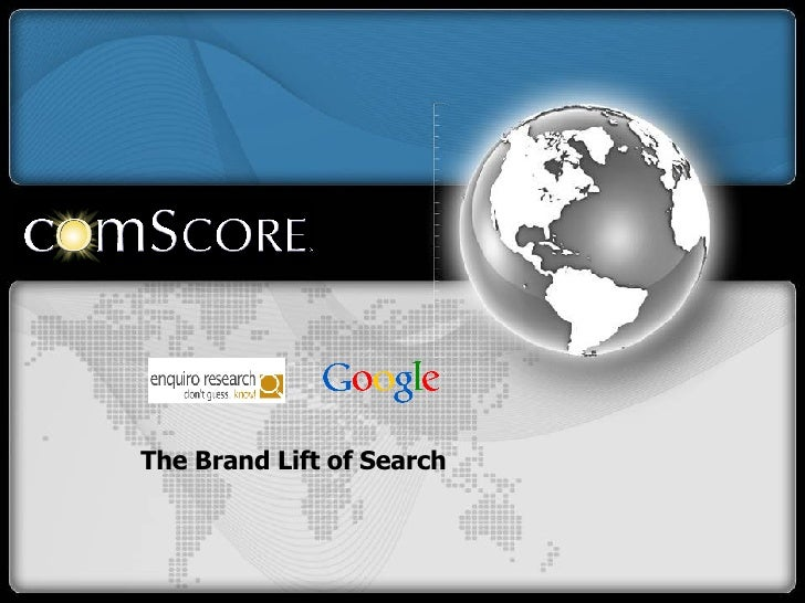 The Brand Lift of Search