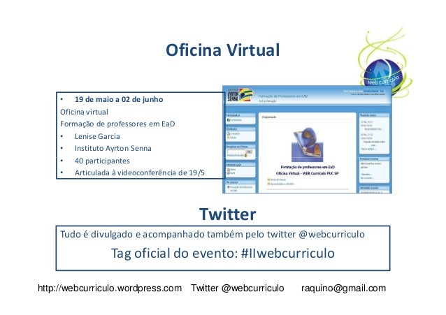 Web curriculum globaledcon for Oficina virtual uca