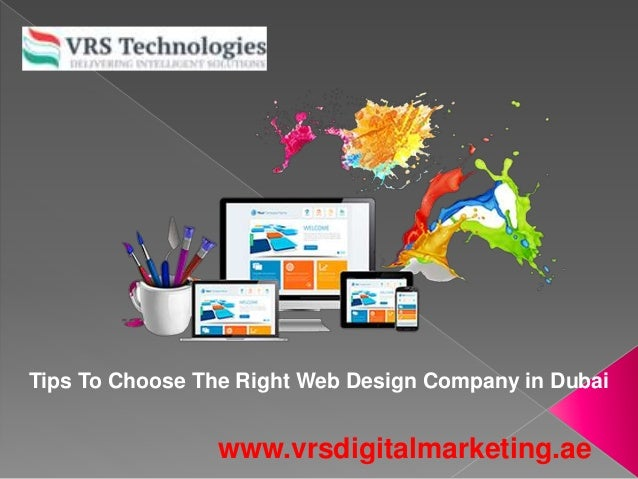 3 Tips How To Choose The Best Web Design Company In Dubai