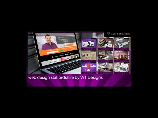 Web Design Staffordshire by Osmond Maguire, WT Designs