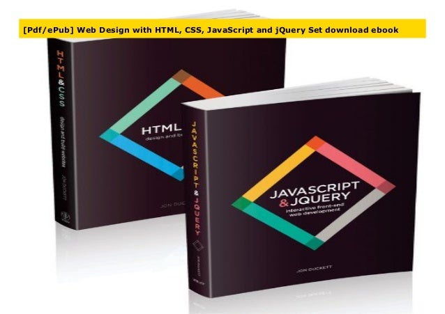 ebook pdf html css and