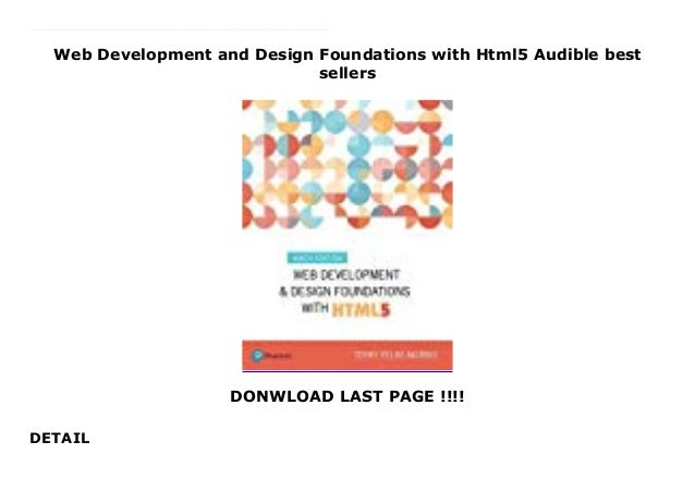 Web Development And Design Foundations With Html5 Audible Best Sellers