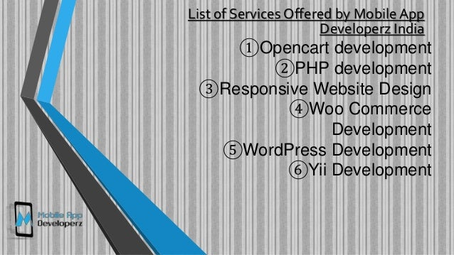 Best Web Development Services | Mobile App Developerz India