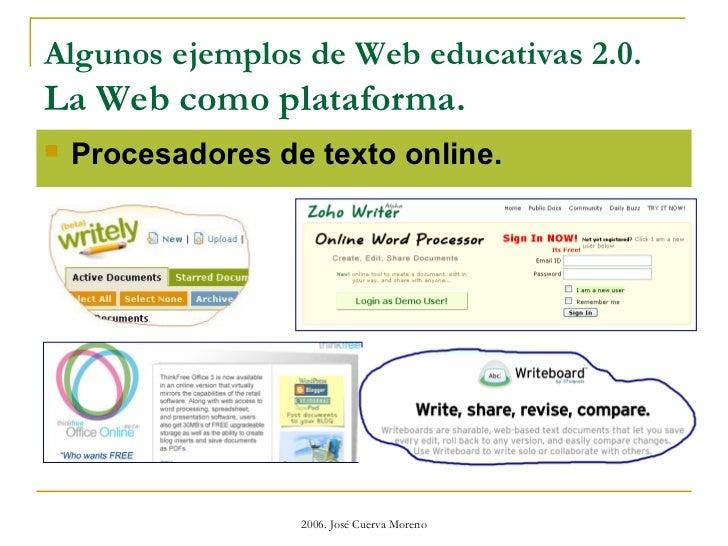 web educativas 2.0 Slide 13