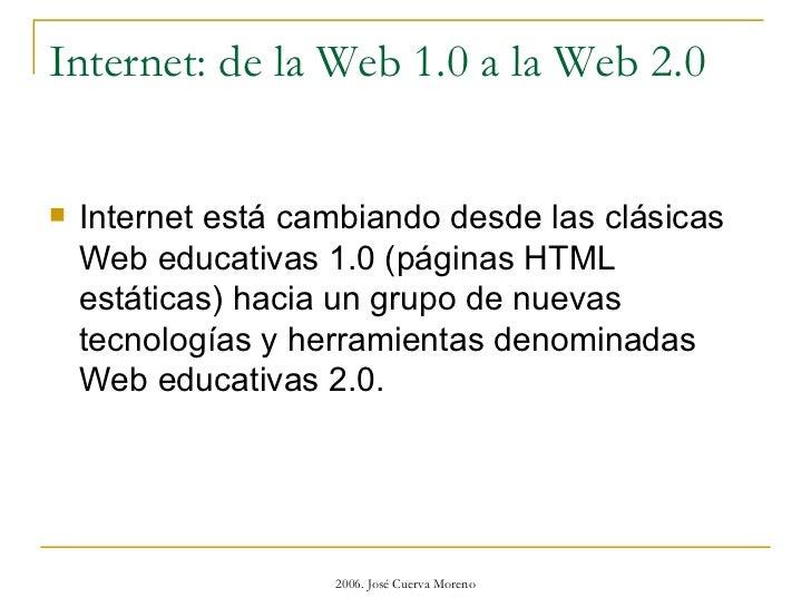 web educativas 2.0 Slide 2