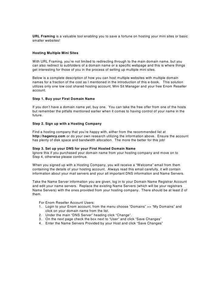Web Hosting Tips