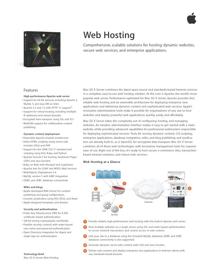 Web Hosting                                                      Comprehensive, scalable solutions for hosting dynamic web...