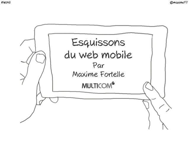 Méthode agile centrée utilisateurs Dominique DEUFF, Mathilde COSQUER (Orange Labs Lannion), ergoIHM, 2012
