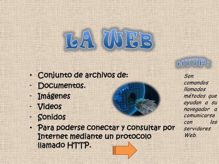 •   Conjunto de archivos de:                Son                                            comandos-   Documentos.        ...