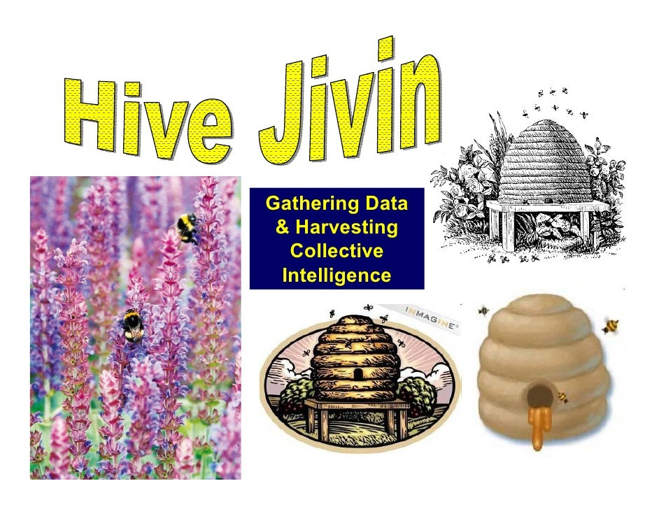 Gathering Data  & Harvesting   Collective  Intelligence