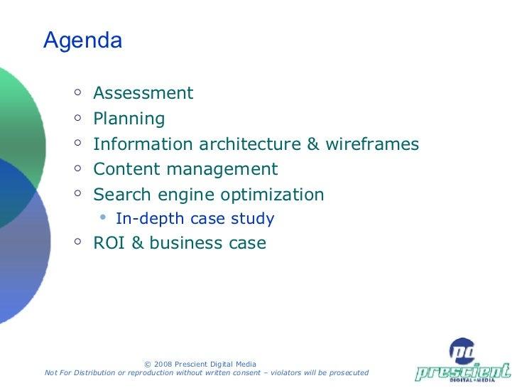Web & Intranet Planning Workshop (half day) Slide 2