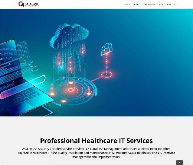 C4 Database Management Website